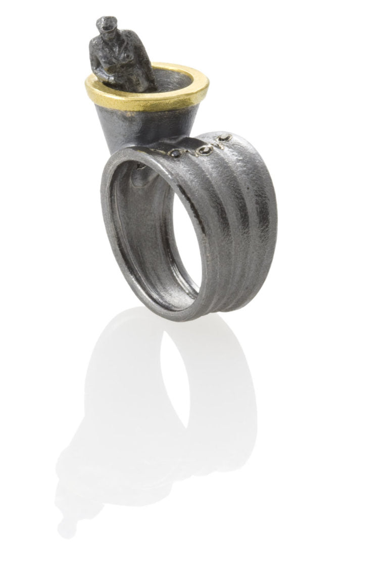 Todd Reed Aletier Zobel collaboration jewelry - ring
