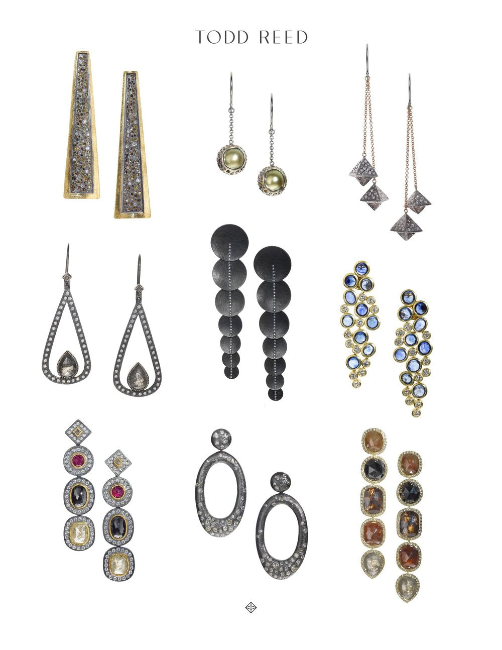 Todd Reed earring selection