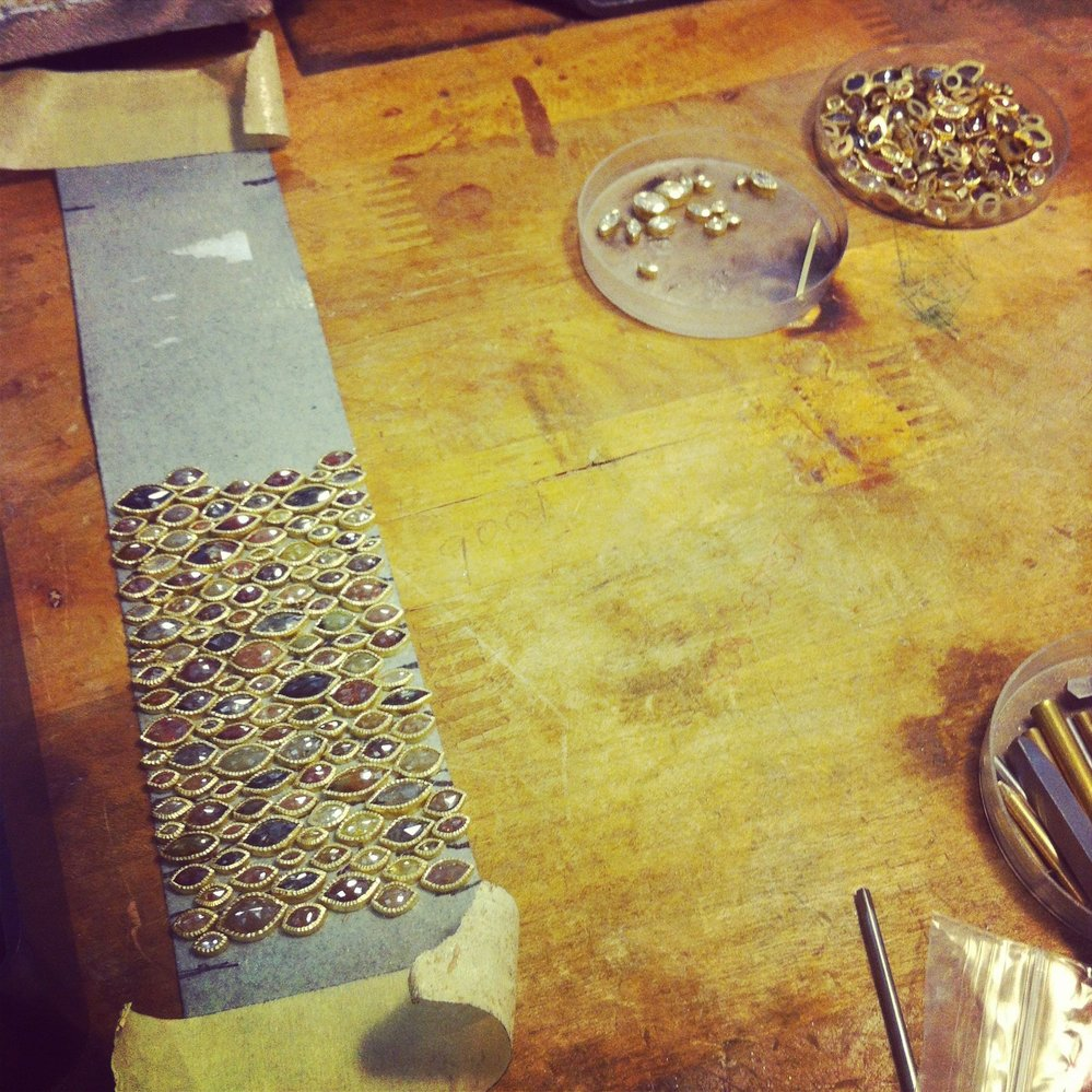 Todd Reed bracelet production