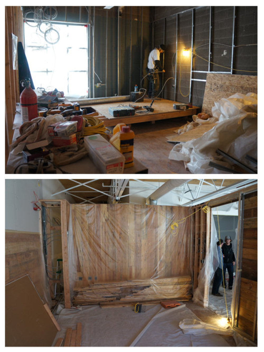 Todd Reed office construction