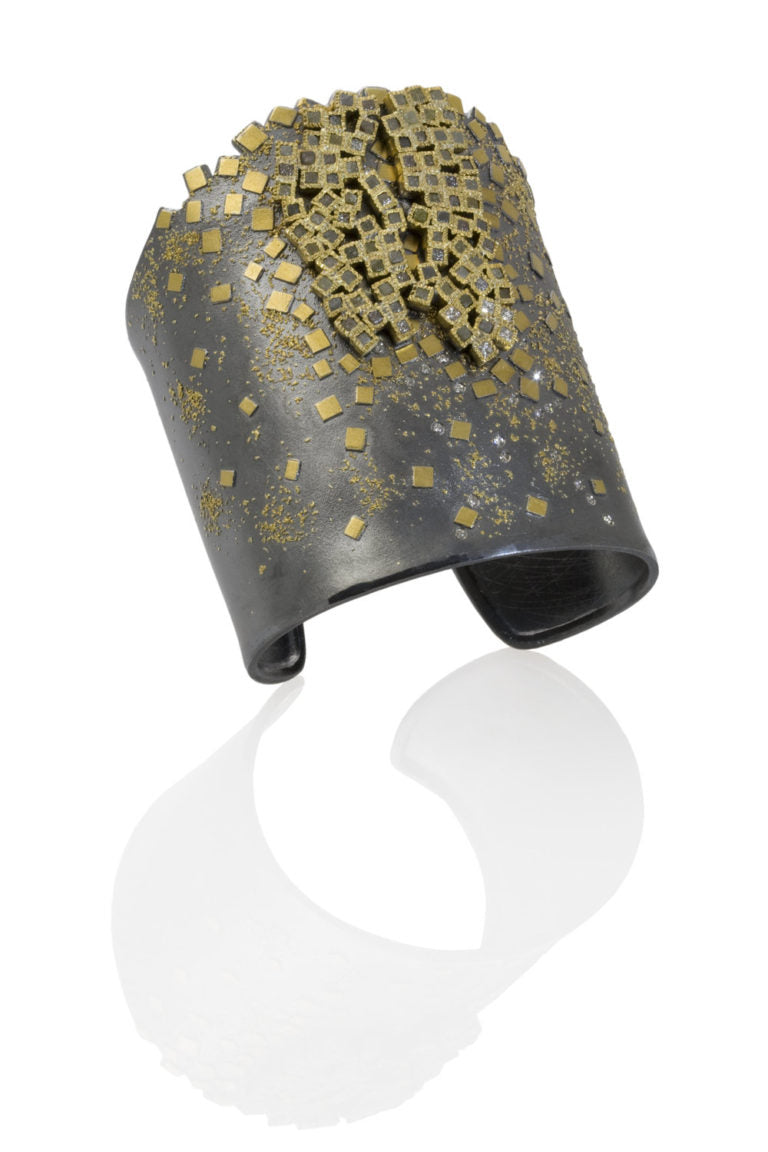 Todd Reed Aletier Zobel collaboration jewelry - cuff