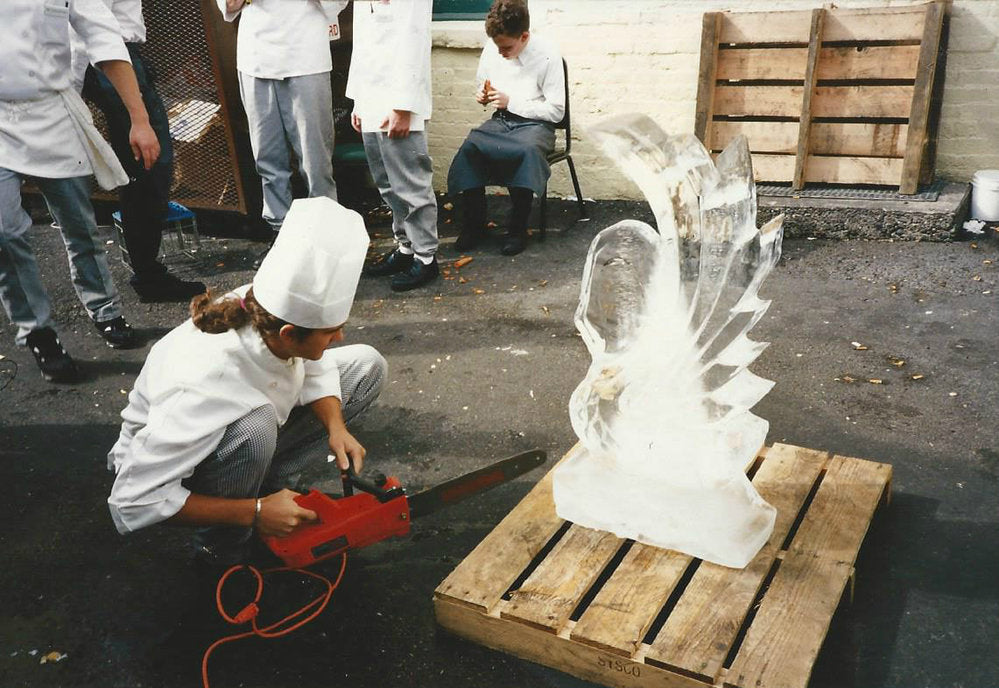 Todd Reed ice sculpture