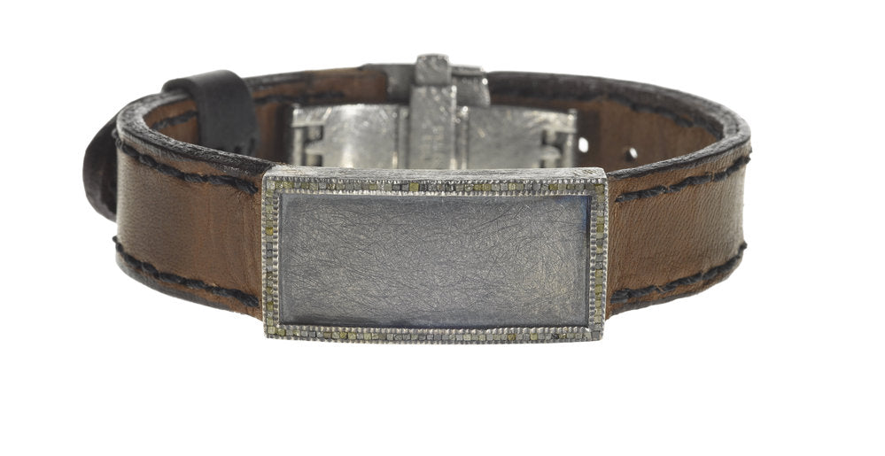 Todd Reed leather bracelet