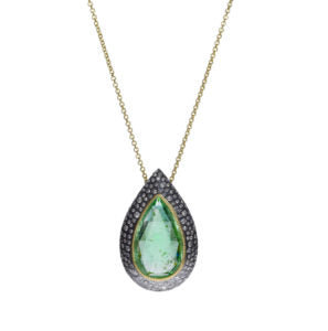 Todd Reed green tourmaline necklace