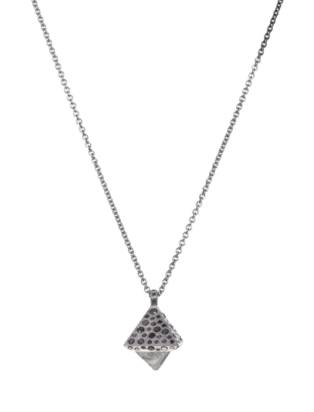 Todd Reed Octahedron Diamond necklace