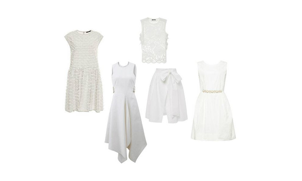 White Spring Trend Cloths