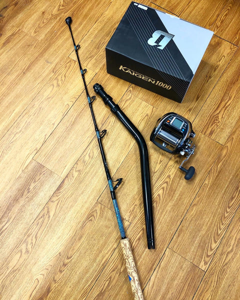 Combo: Banax Kaigen 1000 & Custom Tilefish/Deep Drop Rod