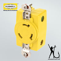Hubbell 30A Receptacle