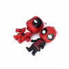 Fancy&Fantasy Classic Deadpool Cute Doll Keychain mercenary  Rubber PVC Pendant Keychain