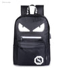 2018 Backpack Student Luminous Anime School Bags For Teenager