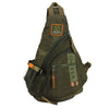 High Quality Waterproof Oxford Men Single Shoulder Cross Body Bag Military