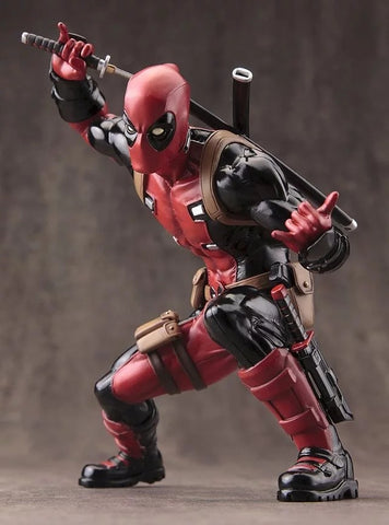 Kotobukiya Marvel X-men Deadpool PVC 16cm Action Figure Toys