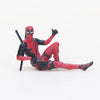 Movie Deadpool 2 Spiderman Model Toy Figure Plush Doll Stuffed