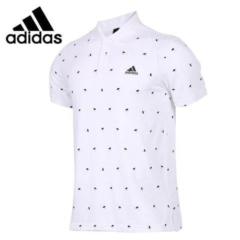 Original New Arrival 2018 Adidas POLO CUBE AOP Men's POLO shirt short sleeve Sportswear