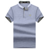 Summer Men Polo Shirts  Short Sleeve Cool Cotton Slim Fit Casual Business Men Shirts