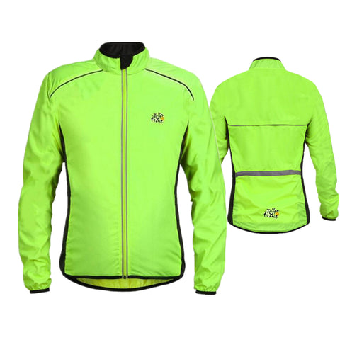 Bike Sports Wind Jacket Men MTB Coat Clothing Cycling Jersey tour de france Cycling Jackets Bicycle Bike Rain Quick dry H016