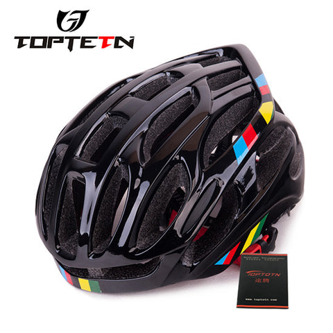 TOPTETN Limited Capacete Da Bicicleta Bike Cycling Ride Helmet Outdoor Sports Safety Bicycle Casco Ciclismo Helmets