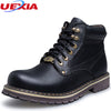 High Quality Winter Boots Men Fashion Warm Fur Plush Ankle Boot Russian Comfortable Couple Men Shoes Unisex Boots Big Size 37~50
