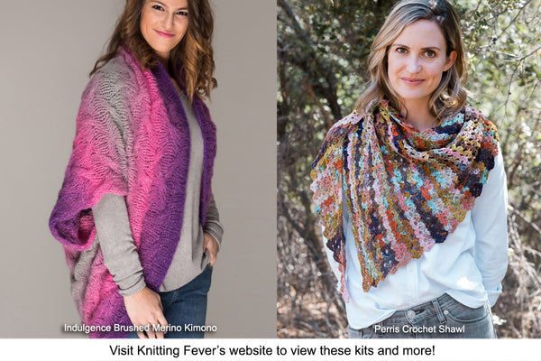 Knitting Fever Drop Ships Kits Ordered through Izzy Knits