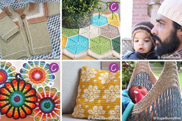 Free Ravelry Patterns to Knit Crochet with Trendsetter Ecotone