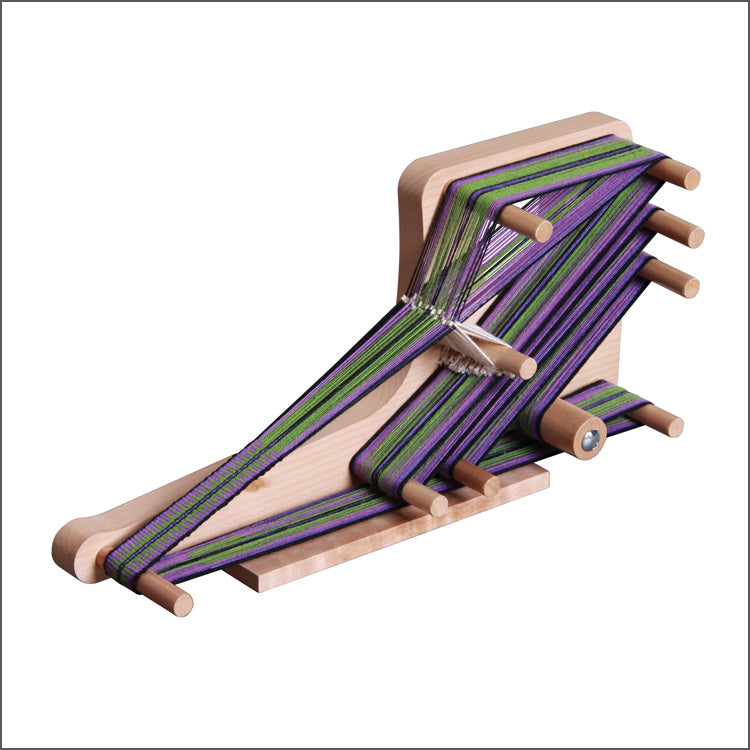 "Inklette Loom weaves bands up to 72"" long"