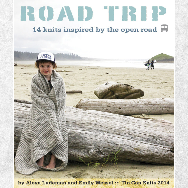 Road Trip book by Alexa Ludeman & Emily Wessel of Tin Can Knits