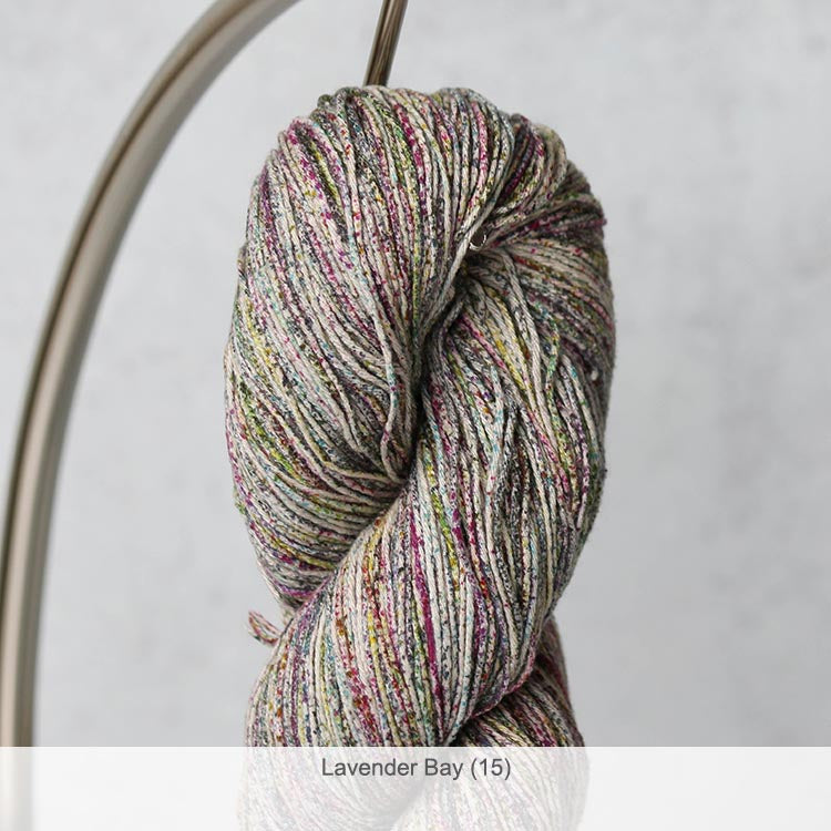 Ella Rae Rustic Silk Fingering Yarn in Lavender Bay (15)