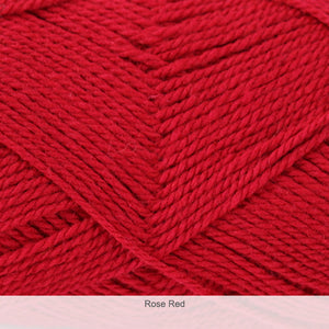 Izzy Knits RUFF+TUMBLE DK in Rose Red