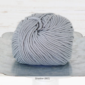 Jo Sharp's Desert Garden Cotton Aran Yarn in Shadow (862)