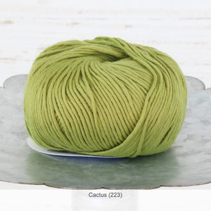 Jo Sharp's Soho Summer Cotton DK Yarn in Cactus (223)