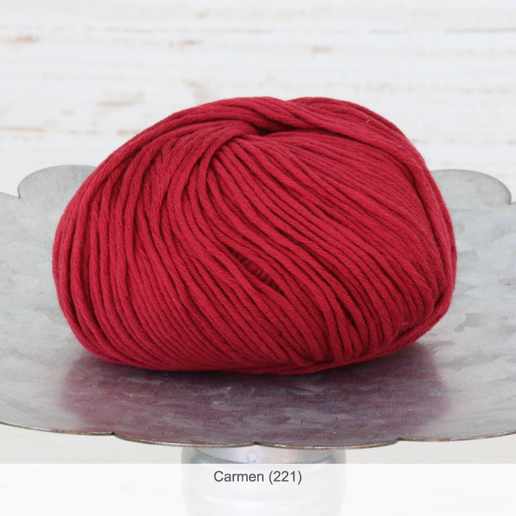 Jo Sharp's Soho Summer Cotton DK Yarn in Carmen (221)