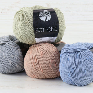 Lana Grossa Bottone Yarn - DK / Light Worsted