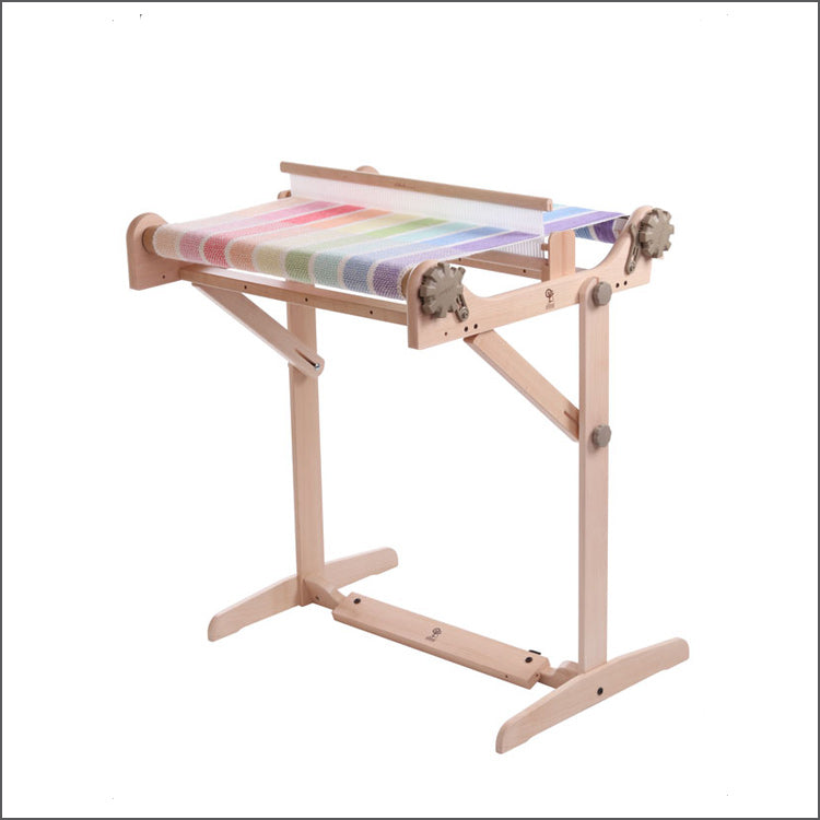 Ashford's Rigid Heddle Loom Stand with Adjustable Weaving Angle