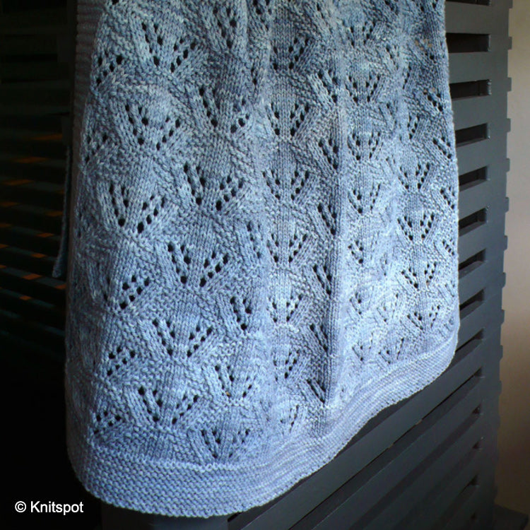 Cradle Me Baby Blanket - Knit Pattern