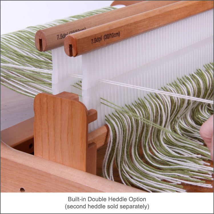 "16"" Rigid Heddle Loom from Ashford comes with a built-in double heddle option"