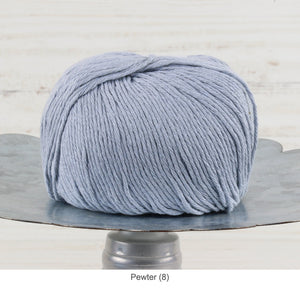 Trendsetter's Worsted Ecotone Yarn in Pewter (8)