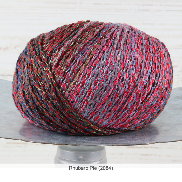 Trendsetter's Fleur Worsted Yarn in Rhubarb Pie