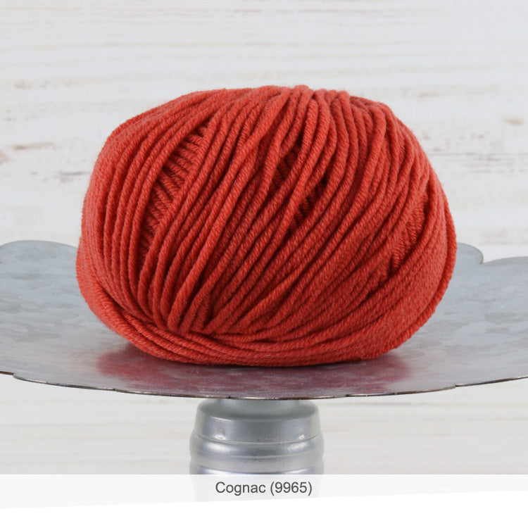 Trendsetter's Merino VIII superwash wool yarn in Cognac (9965)
