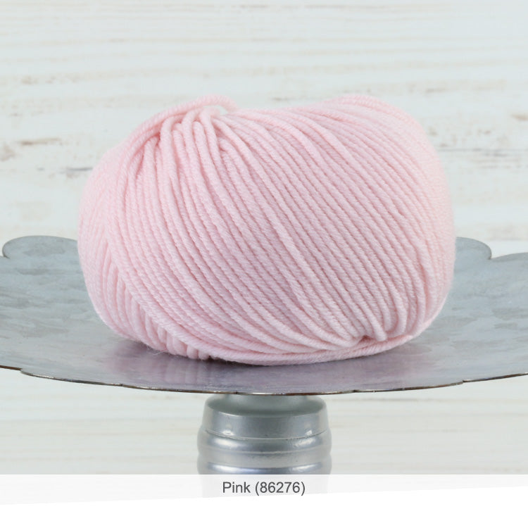 Trendsetter's Merino VIII superwash wool yarn in Pink (86276)