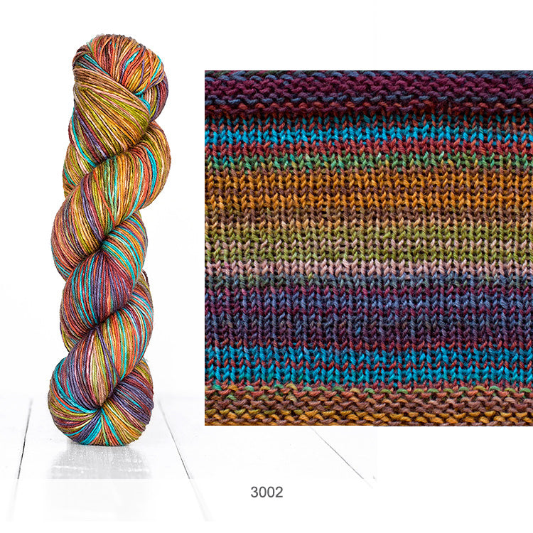 Urth Yarn's Uneek Fingering in Color 3002