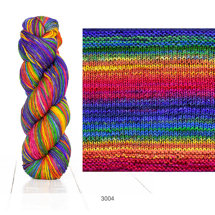 Urth Yarn's Uneek Fingering in Color 3004
