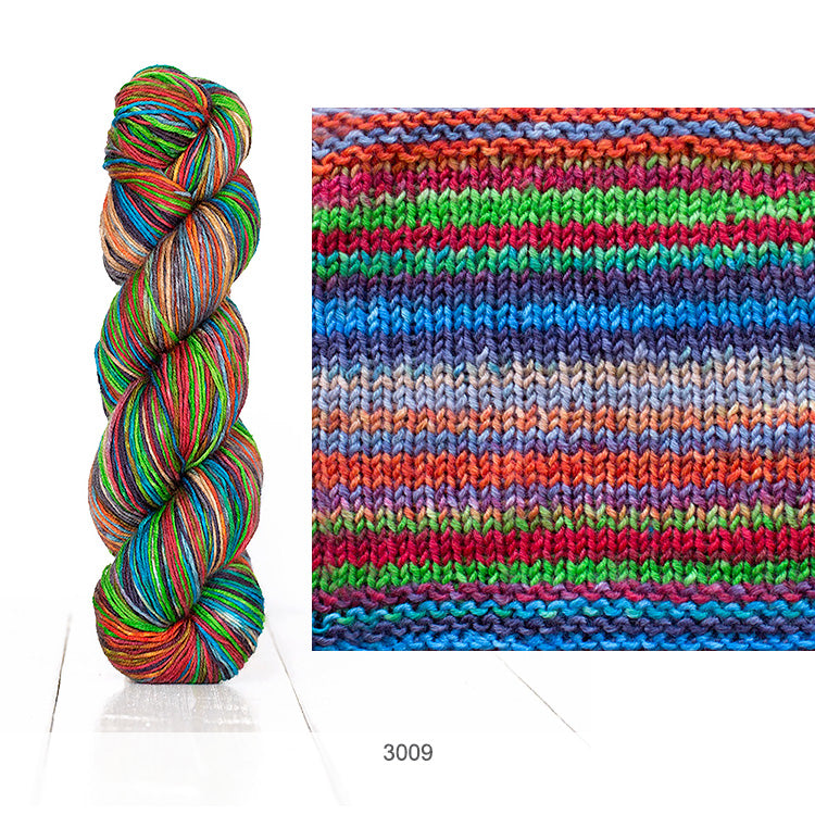 Urth Yarn's Uneek Fingering in Color 3009