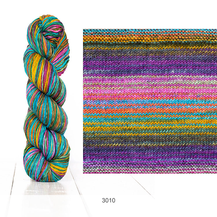 Urth Yarn's Uneek Fingering in Color 3010