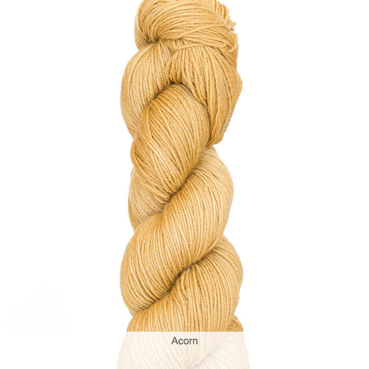 Urth Yarn's Harvest Fingering 100% Extrafine, Superwash Merino Yarn - Acorn
