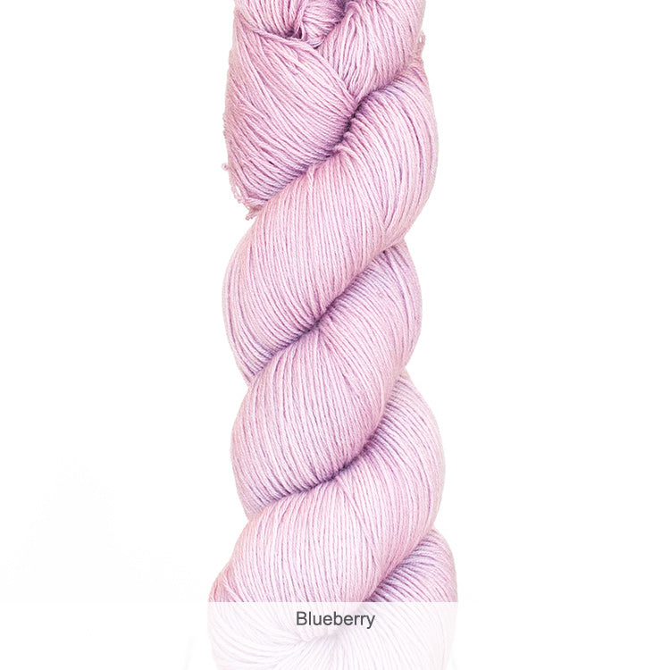Urth Yarn's Harvest Fingering 100% Extrafine, Superwash Merino Yarn - Blueberry