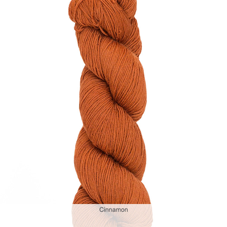 Urth Yarn's Harvest Fingering 100% Extrafine, Superwash Merino Yarn - Cinnamon