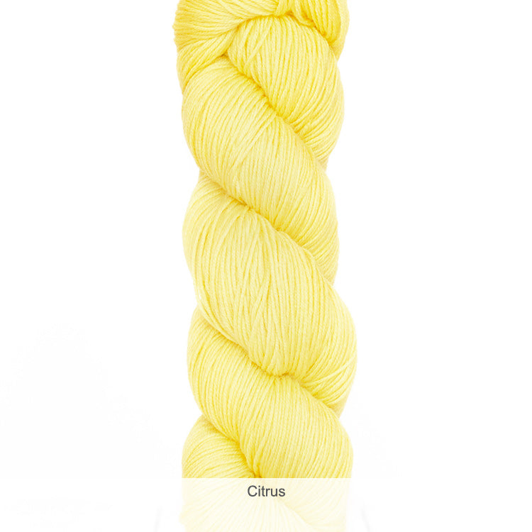 Urth Yarn's Harvest Fingering 100% Extrafine, Superwash Merino Yarn - Citrus