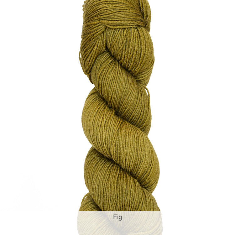 Urth Yarn's Harvest Fingering 100% Extrafine, Superwash Merino Yarn - Fig
