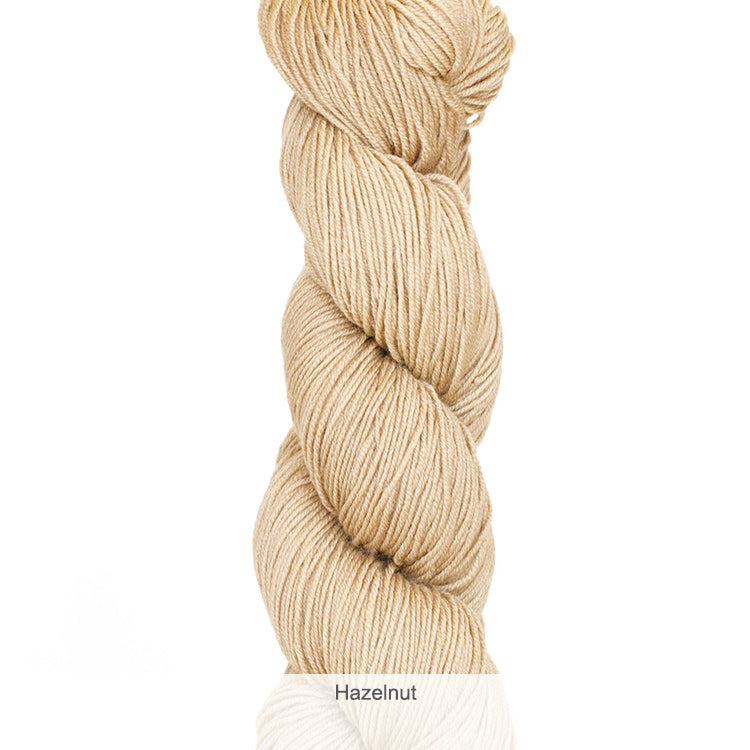 Urth Yarn's Harvest Fingering 100% Extrafine, Superwash Merino Yarn - Hazelnut