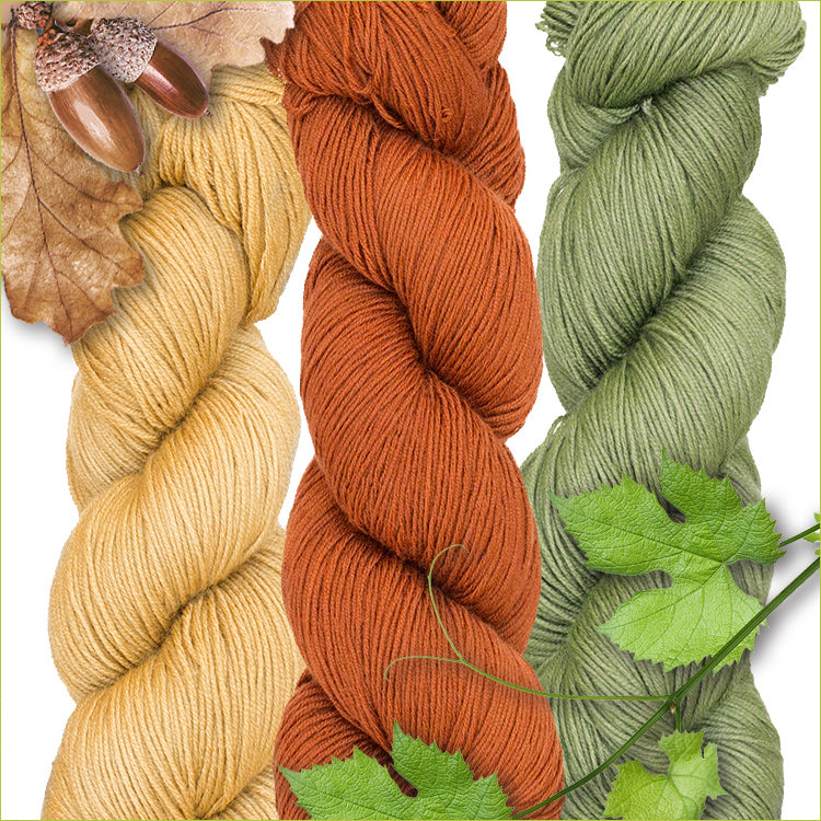 Urth Yarn's Harvest Fingering 100% Extrafine, Superwash Merino Yarn